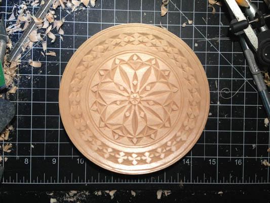 chip carved plates