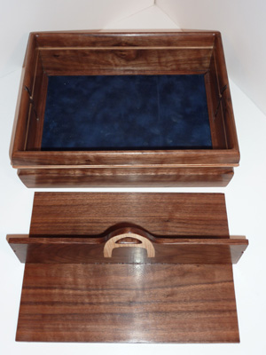 Personalized Tray with Hidden Compartment